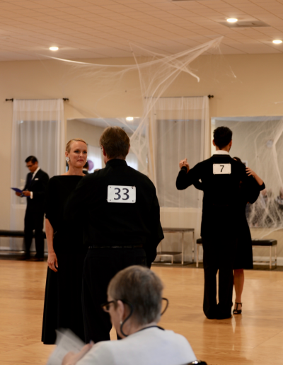 Halloween Team Match, Saint Johns Ballroom dance studio
