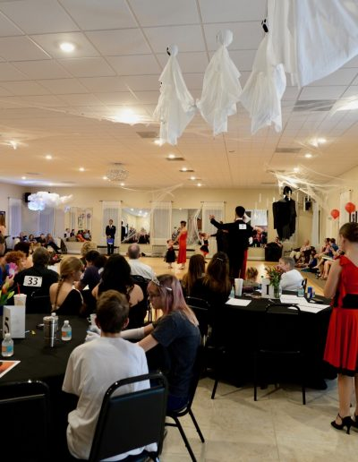 Jacksonville Ballroom dance studio Halloween team match
