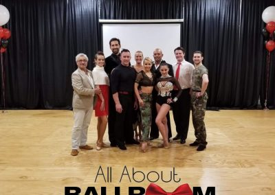 All About Ballroom Dance Team