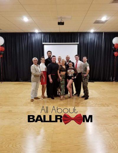 All About Ballroom Dance Team