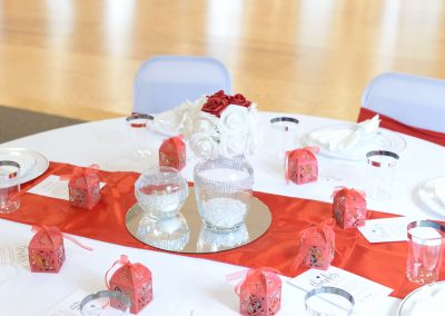 Red&White table