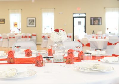 Red&White wedding