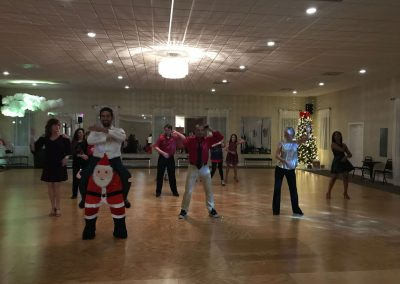 All About Ballroom dance studio, Christmas Macarena